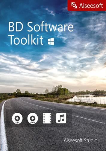 Verpackung von Aiseesoft BD Software Toolkit [PC-Software]