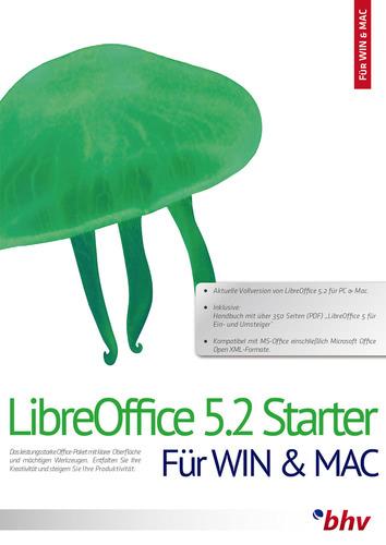 Verpackung von bhv LibreOffice 5.2 Starter [PC-Software]