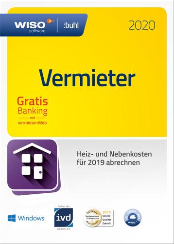 Verpackung von WISO Vermieter 2020 [PC-Software]