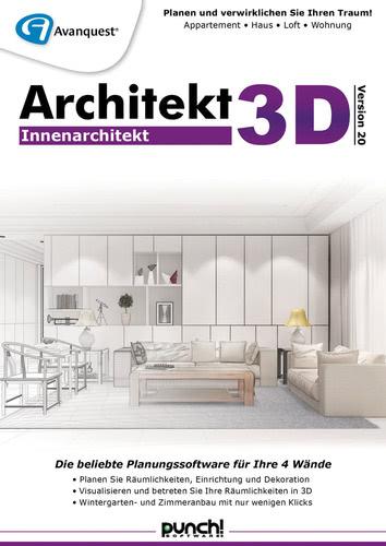 Verpackung von Architekt 3D 20 Innenarchitekt [PC-Software]