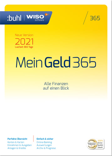 WISO Mein Geld 365 (Version 2021) (Download), PC