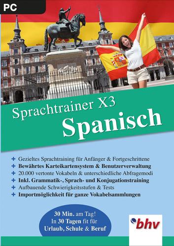Verpackung von Sprachtrainer X3 Spanisch [PC-Software]