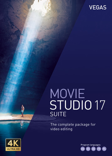 Verpackung von Vegas Movie Studio 17 Suite [PC-Software]