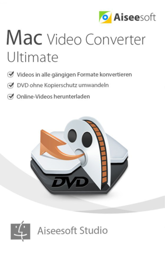 Verpackung von Aiseesoft Video Converter Ultimate Mac [Mac-Software]