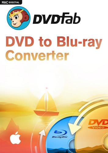 Verpackung von DVDFab DVD to Blu-ray Converter für Mac [Mac-Software]