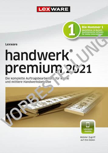 Verpackung von Lexware handwerk premium 2022 - Jahresversion (365 Tage) - Vorbestellung [PC-Software]