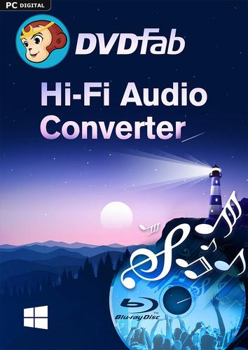 Verpackung von DVDFab Hi-Fi Audio Converter (1 User / 2 Jahre) PC [PC-Software]