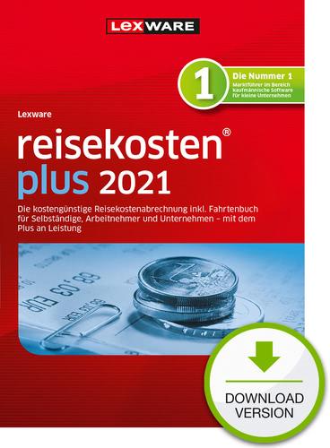 Verpackung von Lexware reisekosten plus 2021 - Jahresversion (365 Tage) [PC-Software]