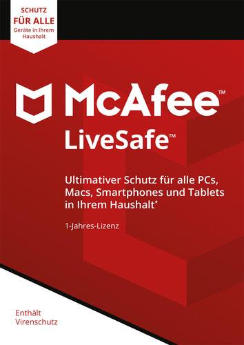 LiveSafe 2018, Unlimited Devices / 12 Monate (Box), Multi