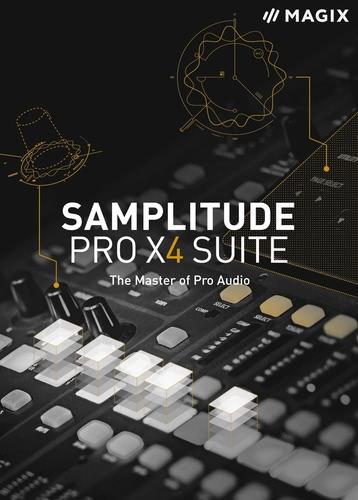 Verpackung von Samplitude Pro X4 Suite [PC-Software]