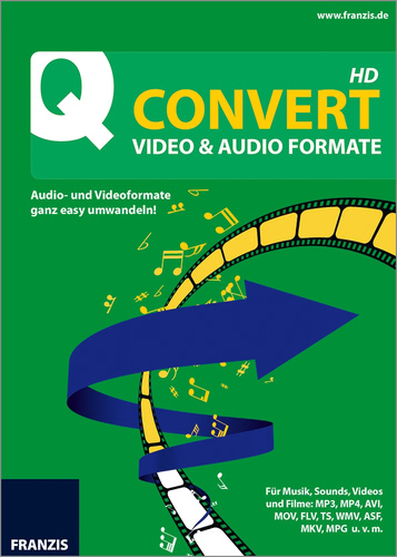 Verpackung von Quick Convert Video & Audio Formate HD [PC-Software]