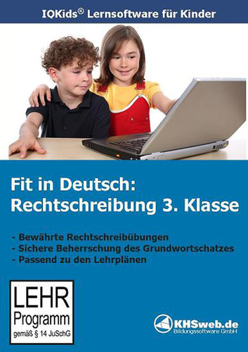 Verpackung von Fit in Deutsch Rechtschreibung 3. Klasse [PC-Software]