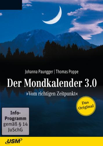 Verpackung von USM Der Mondkalender 3.0 [PC-Software]