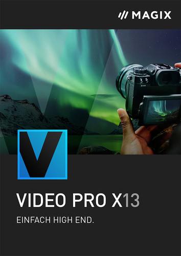 Verpackung von MAGIX Video Pro X 13 [PC-Software]