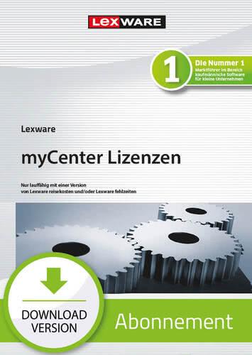 Verpackung von Lexware myCenter std/plus 100 Lizenzen 2021 - Abo Version [PC-Software]