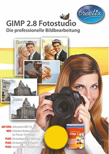 Verpackung von GIMP 2.8 Fotostudio [PC-Software]