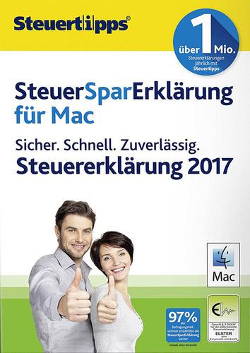 Verpackung von SteuerSparErklärung MAC 2018 (für Steuerjahr 2017) [Mac-Software]