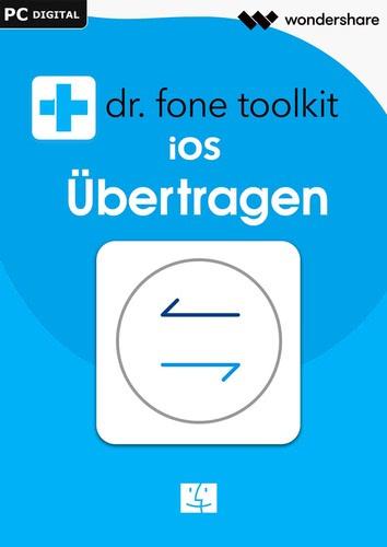 Verpackung von Wondershare Dr. Fone Mac Übertragen (Transfer) iOS 5 Geräte 1 Jahr Laufzeit [Mac-Software]