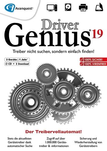 Verpackung von Driver Genius 19 3 PCs 12 Monate [PC-Software]