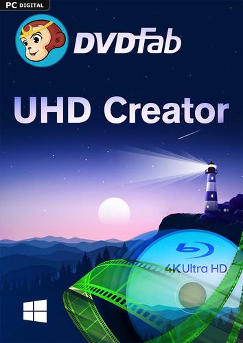 Verpackung von DVDFab UHD Creator PC - 1 User 2 Jahre [PC-Software]