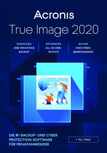 Verpackung von Acronis True Image 2020 Advanced [1 Gerät / Abonnement] [MULTIPLATFORM]
