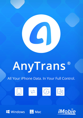 Verpackung von iMobie AnyTrans for iOS (Mac) [Mac-Software]