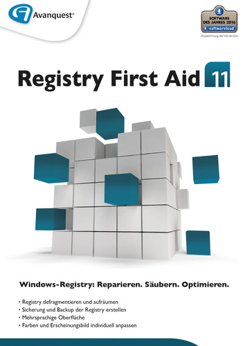 Verpackung von Registry First Aid 11 [PC-Software]