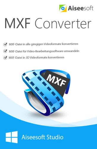 Verpackung von Aiseesoft MXF Converter [PC-Software]