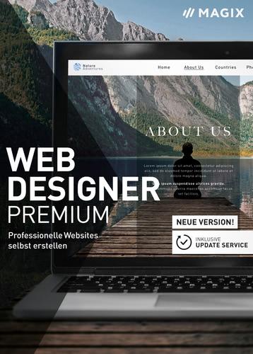 Verpackung von Magix Web Designer (17) Premium [PC-Software]