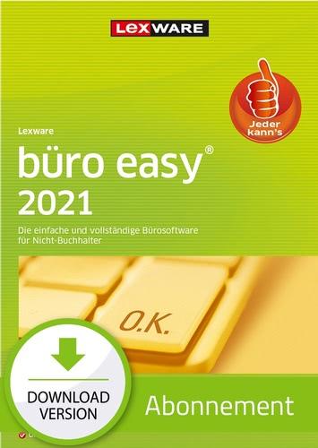 Verpackung von Lexware büro easy 2021 - Abo Version  [PC-Software]