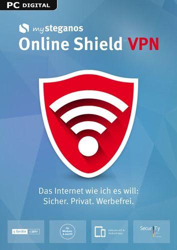Verpackung von mySteganos Online Shield VPN [PC-Software]