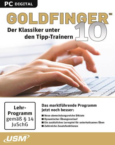 Verpackung von Goldfinger 10 Der Klassiker unter den Tipp-Trainern [PC-Software]