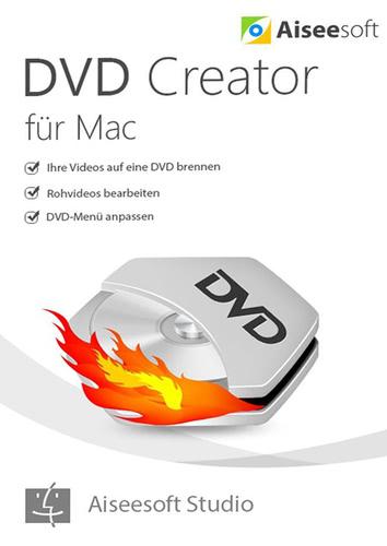 Verpackung von Aiseesoft DVD Creator (Version 2017) [Mac-Software]