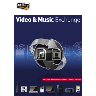Verpackung von eJay eJay Video & Music Exchange [PC-Software]