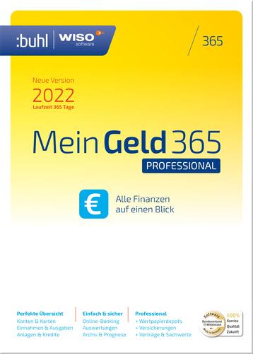 Verpackung von WISO Mein Geld 365 Professional (Version 2022) [PC-Software]