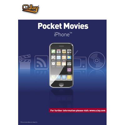 Verpackung von eJay Pocket Movies für iPhone [PC-Software]