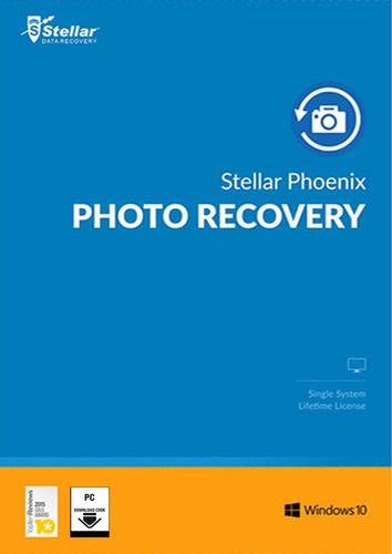 Verpackung von Stellar Phoenix Photo Recovery 8 Windows [PC-Software]