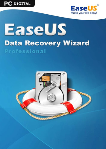 Verpackung von EaseUS Data Recovery Wizard PRO 13.3 [PC-Software]