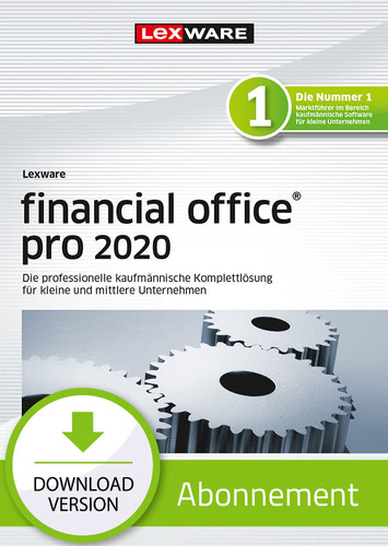 Verpackung von Lexware financial office 2020 pro - Abo-Version [PC-Software]