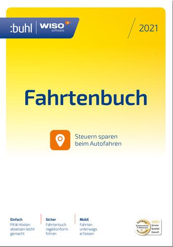 Verpackung von WISO Fahrtenbuch 2021 [PC-Software]