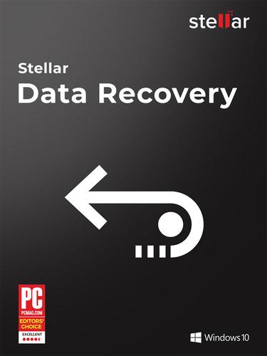 Verpackung von Stellar Data Recovery 9 - 1 PC / 1 Jahr [PC-Software]