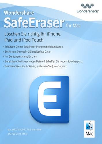 Verpackung von Wondershare SafeEraser [Mac-Software]