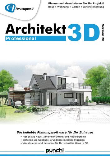 Verpackung von Architekt 3D 20 Professional [PC-Software]