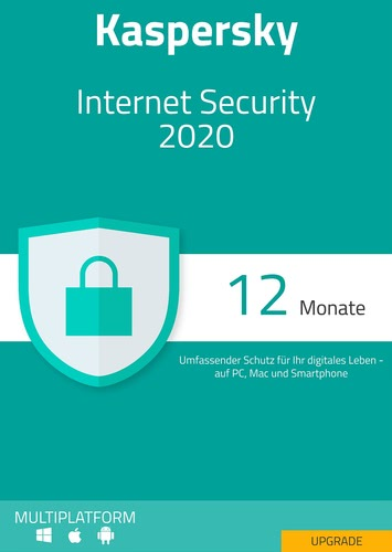 Kaspersky Internet Security 2020Upgrade – 5 Geräte / 12 Monate (Download), Multi