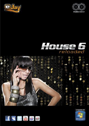 Verpackung von eJay eJay House 6 reloaded [PC-Software]