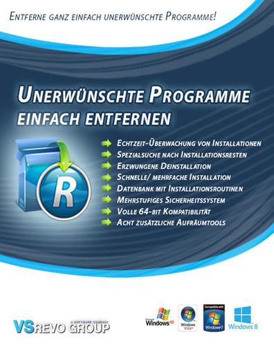 Verpackung von Revo Uninstaller Pro 3 (1 PC) [PC-Software]
