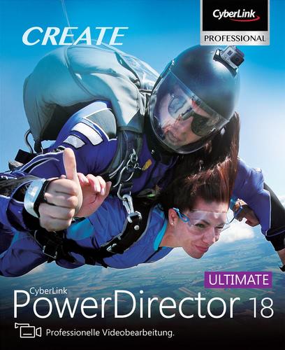 Verpackung von PowerDirector 18 Ultimate [PC-Software]