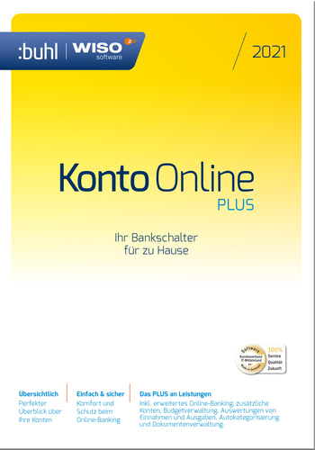 WISO Konto Online Plus (Version 2021) (Download), PC