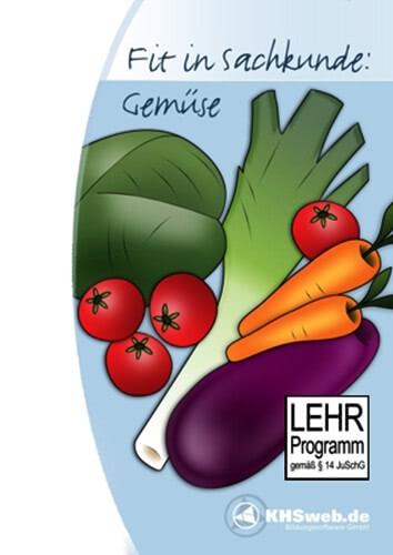 Verpackung von Fit in Sachkunde: Gemüse [PC-Software]
