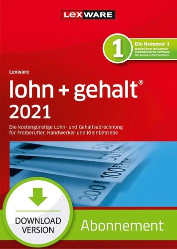 Verpackung von Lexware lohn+gehalt 2021 - Abo Version [PC-Software]